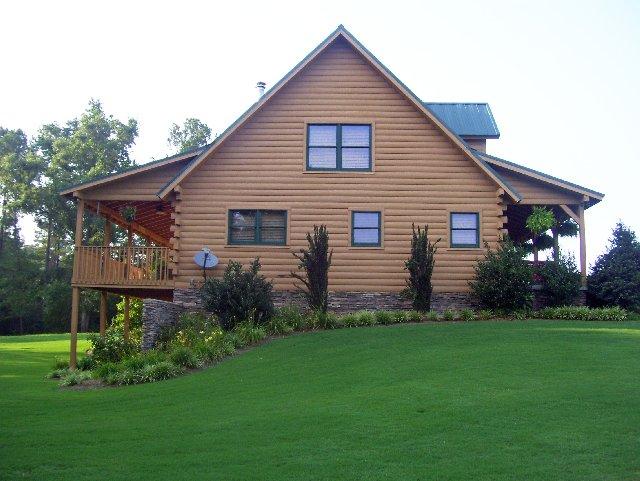 Log Home Sealant for Log Homes in Atlanta