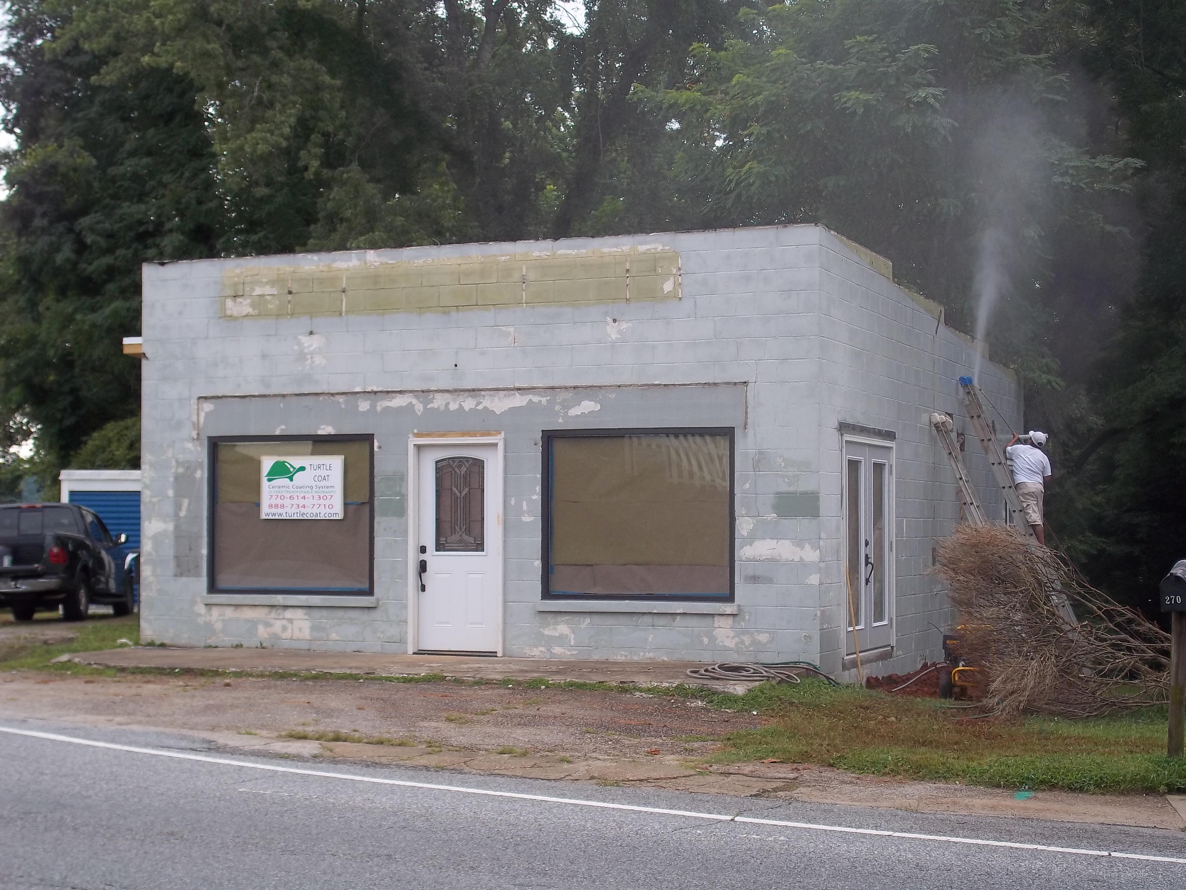 Commercial Paint Coating Applications Atlanta